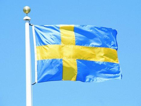 Фото флага Швеции